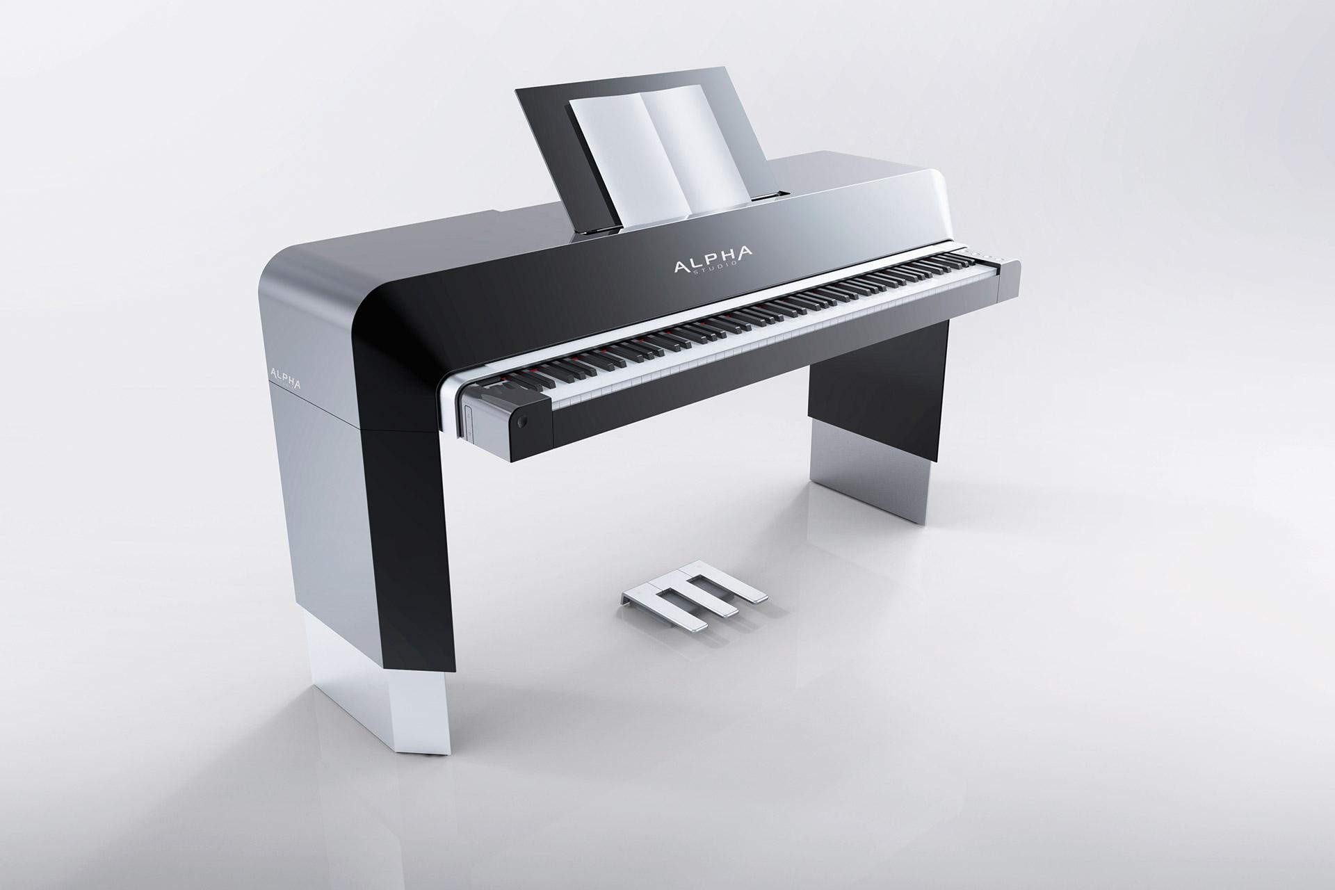 Das Alpha Piano wurde als Produktentwicklung bei SFK im Bezirk Gmunden gefertigt.