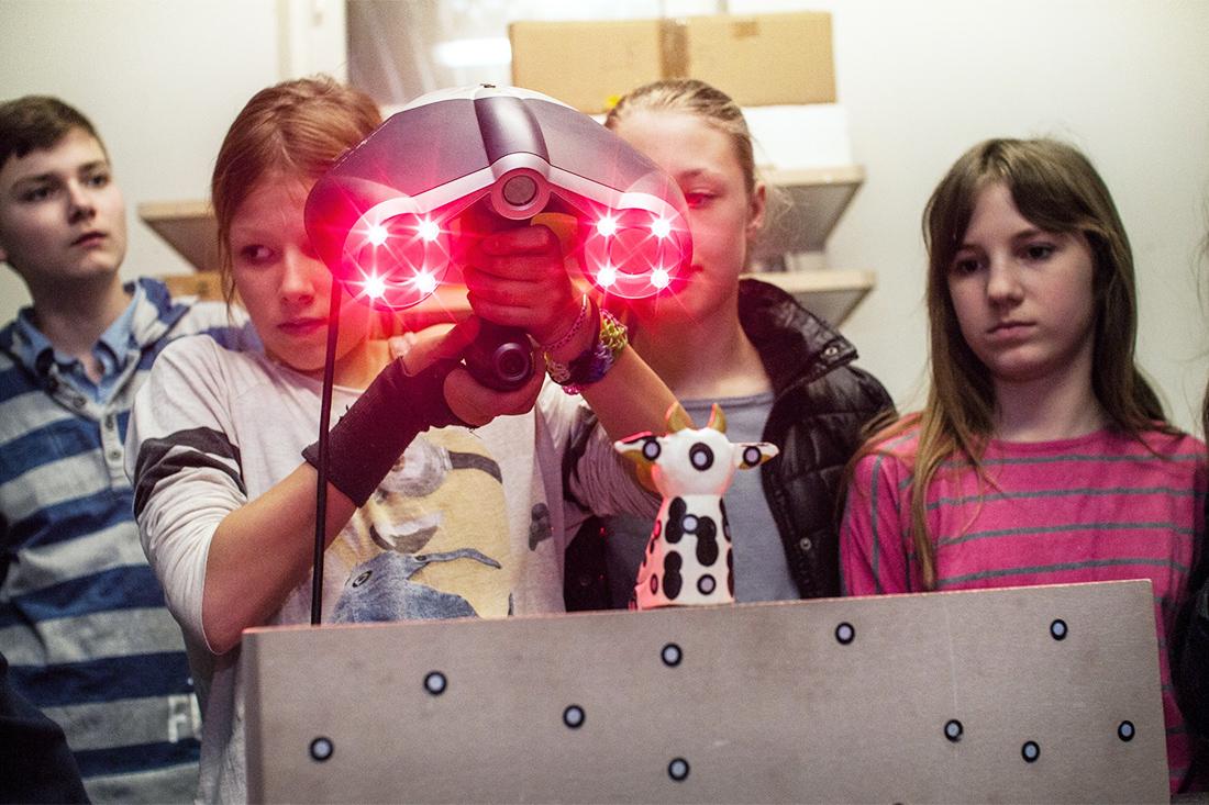 Technologie für Kids – SFK lädt zum 3D-Schnupperlabor