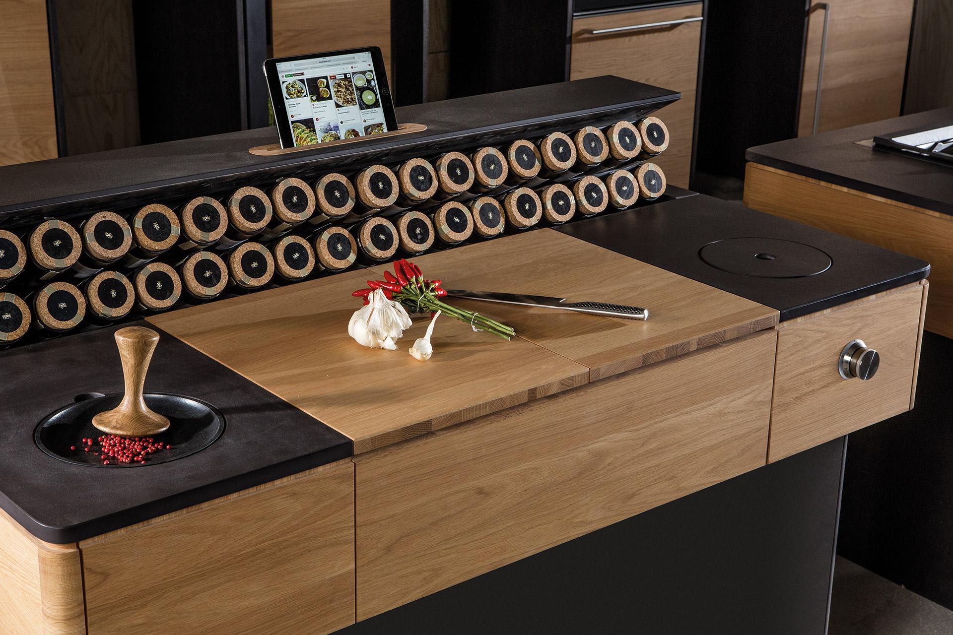 Die Konzeptküche Vooking wurde speziell für Vegetarier entwickelt und von SFK produziert.