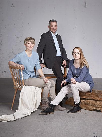 Geschäftsführung von SFK –Claudia Haslinger, Gerhard Spitzbart und Martina Huemer-Fistelberger