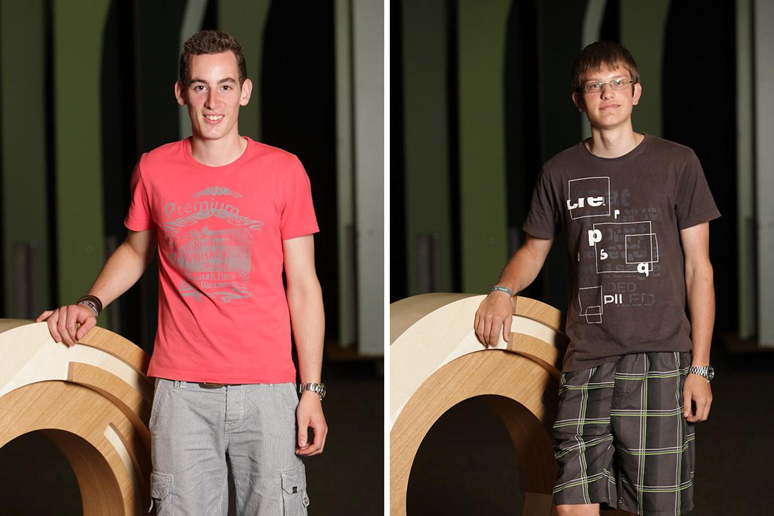 Beim Bundeslehrlingswettbewerb sicherten sich unsere beiden Lehrlinge einen Stockerlplatz unter Österreichs besten Tischlern