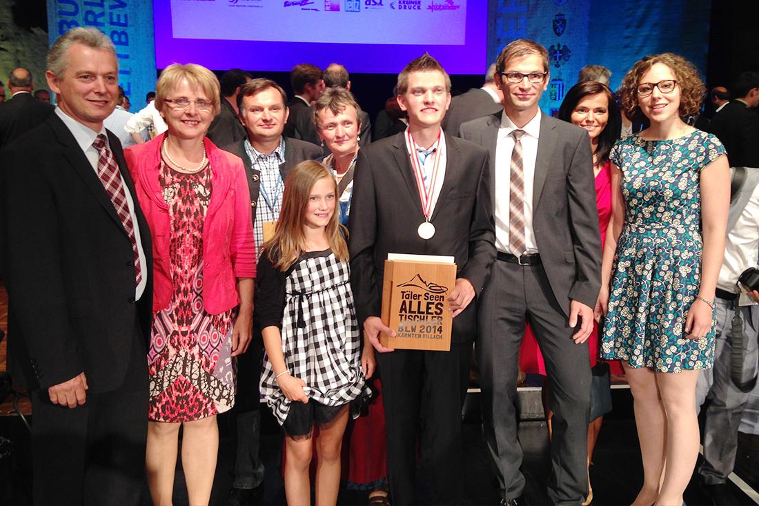 Bundessieger der Tischler-Lehrlinge: Christian Buchegger von SFK