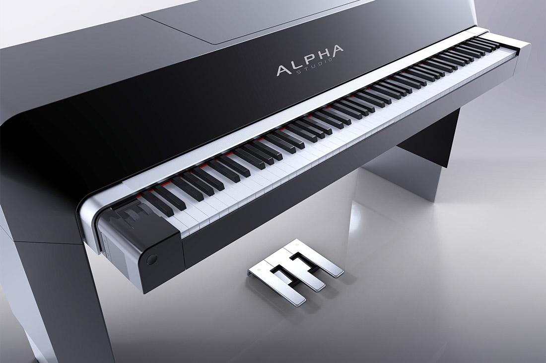 Alpha Piano by Porsche Design und SFK Detailansicht