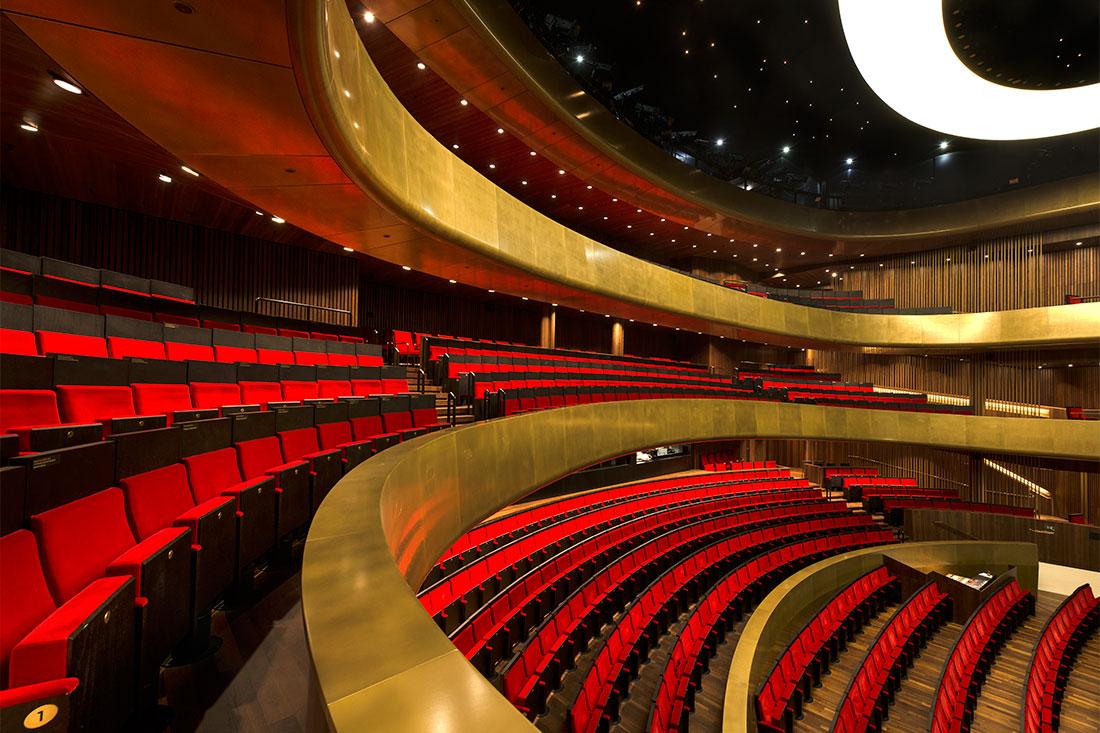 Auditorium des Musiktheater Linz
