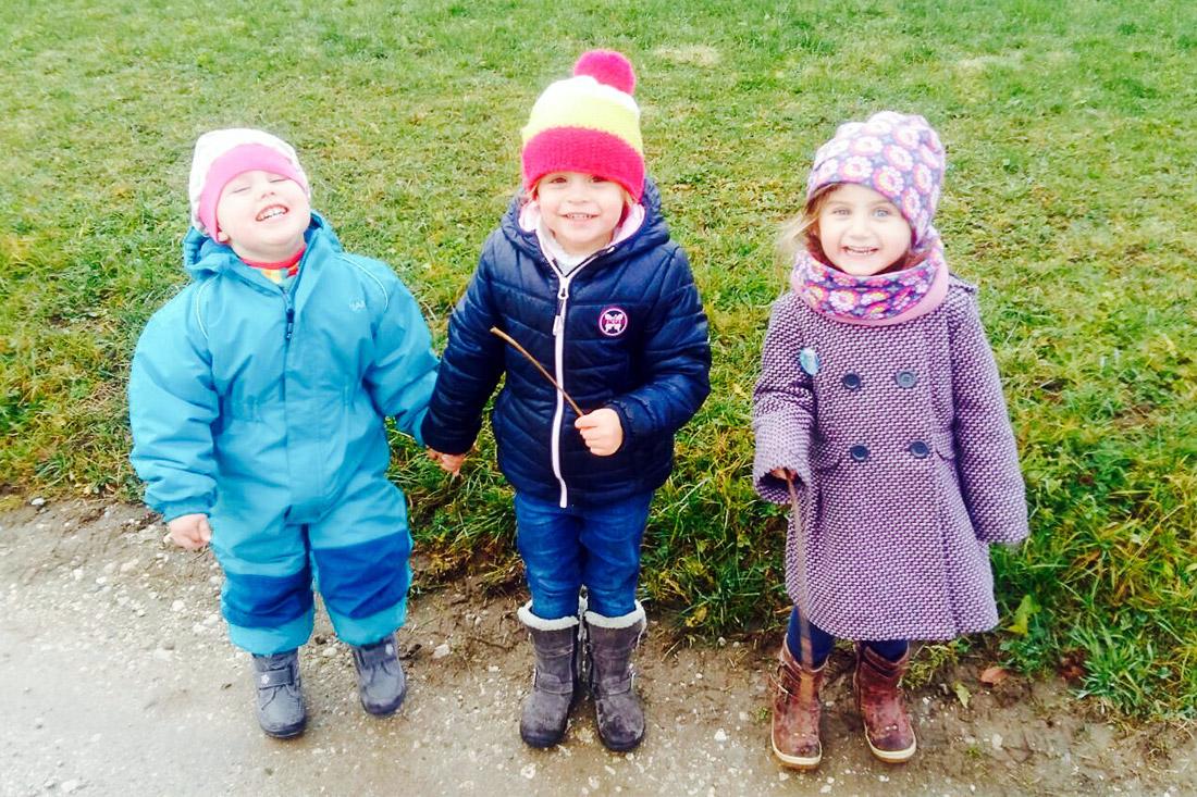 Kinder unserer Mitarbeiter bei SFK