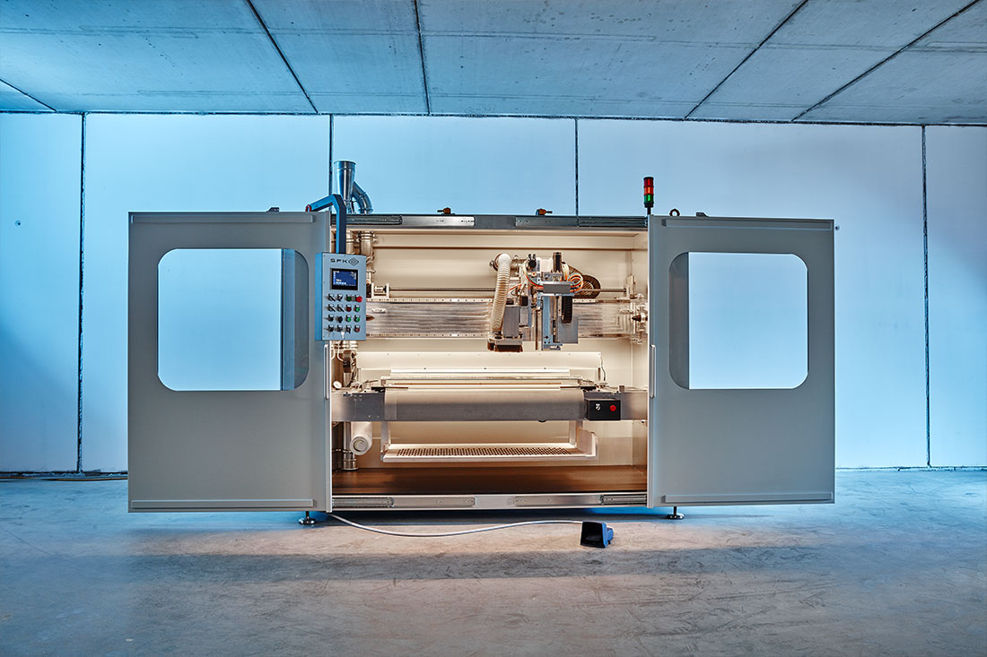 Sonder-NC Fräsmaschine von SFK für die Flugzeugindustrie