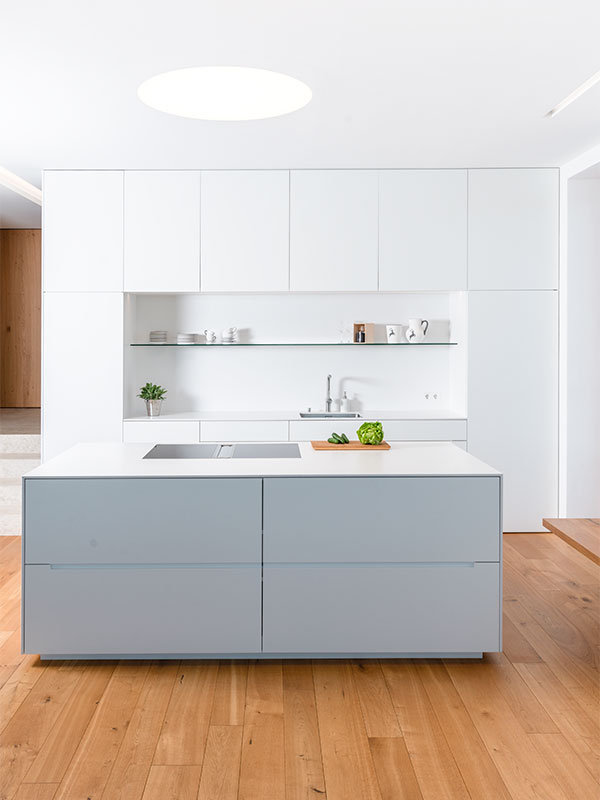 Hochwertige Designerküche, gefertigt von der SFK Technologie Manufaktur
